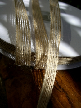 Natural Jute Ribbon 3/8in (25 yds)