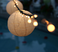 Lanterns and Parasols