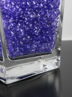 Lapis Purple Rain Drops Vase Filler Gems (2 cups by volume)