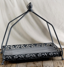 Large 18 x 10 Iron Display Tray