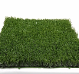 "Large Grass Mats 20"" x 20"" Green PVC Grass 2.5"" tall"