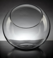 Large Studio Glass Vase 10""