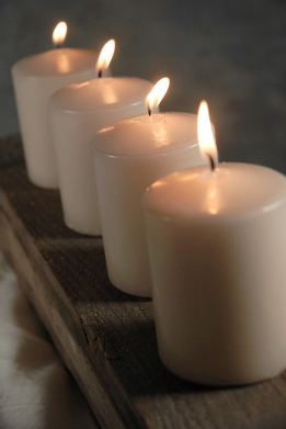 Large Votives & Cone Candles
