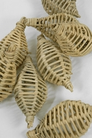 "Lata Lampions 4-1/2"" Wicker (8 pieces)"