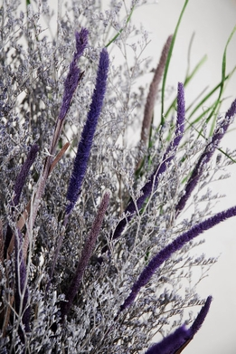Lavender Caspia Bouquet Natural Preserved