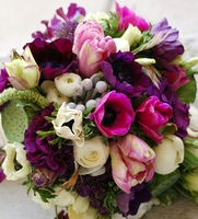 Lavender, Lilac, Plum,  Eggplant-Flowers & Decorations by Color
