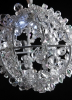 "LED Battery Operated 5"" Crystal Ball"