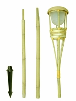 LED Battery Operated Tiki Torches 60in