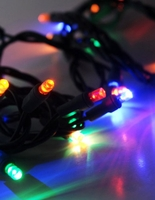 LED Polka Dot String Lights | Multicolor