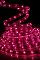 LED Rope Lights 18 foot Orchid Purple Lights