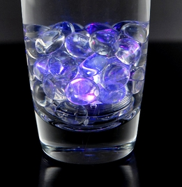 "LED Vase Lights 1"" Color Changing Submersible (12 pieces)"