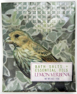 Lemon Verbena Bath Salts & Essential Oils