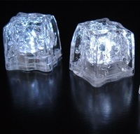 LED Ice Cubes  |  Pack of 8