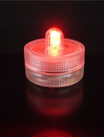 Light LED FloraLytes Submersible RED Submersible FloraLyte Red LED Re-usable