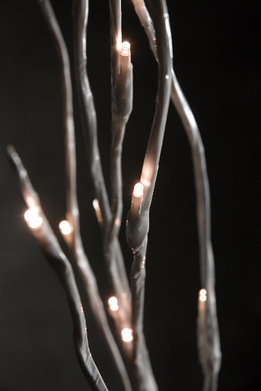 Lighted Branches 39 in. 20 White LED Battery Operated