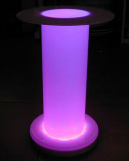 Lighted Risers, Props