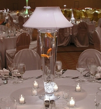 Lighted Vase Lamp Shades  - Event Centerpieces