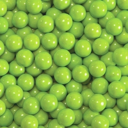Lime Green Sixlets Favor Candy 14oz