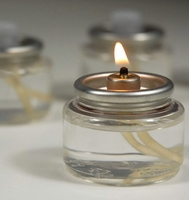 Liquid Wax Fuel Cell Tea Light Candle (Pack of 10)