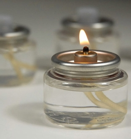 Liquid Wax Fuel Cells Clear Candle