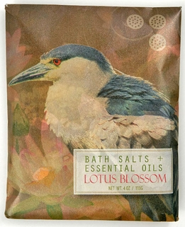 Lotus Blossom Bath Salts & Essential Oils