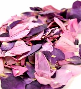 Preserved Rose Petals Pink and Lavender | 5 Cups