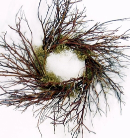 "Manzanita Wreaths 18"" Natural Sierra Red"