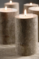 "Maple Candleholders 4"" Natural Maple Tealight Holder"