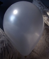 Metallic Silver Helium Quality Balloons 17in (Pack of 72)