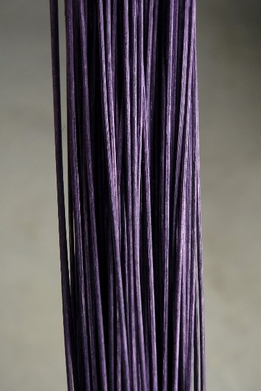"Midollino Sticks 42"" Plum Purple (100 -150 sticks) 1 lb. bundle"