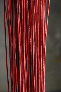 "Midollino Sticks 42"" Red (100 -150 sticks) 1 lb. bundle"