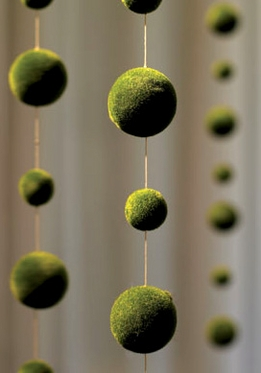 Moss Ball Garlands 70 in.