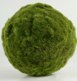 "Moss Balls 7"" Large Artificial"