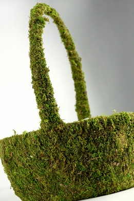 Moss Baskets (13 x9) Preserved Moss