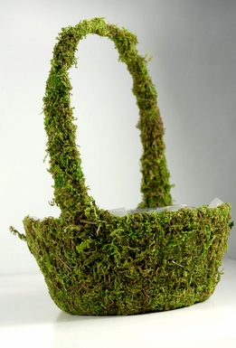 Moss Baskets Preserved Moss 7x 9.5""