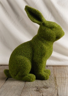 "Moss Covered 12"" Bunny"