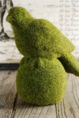 Moss Covered 8x9 Bird on a Ball