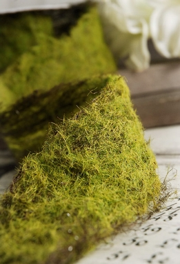 Moss Ribbon 2in x 41in