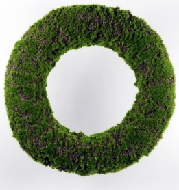 "Moss Wreaths 19"" Artificial"