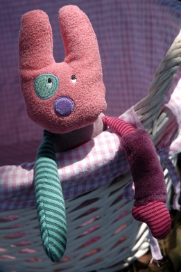 Moulin Roty Les Jolis pas Beaux 11in Rabbit Doll