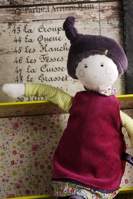 Moulin Roty Mademoiselle Eglantine Doll 14in