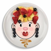Ms Food Face� - make faces at the table
