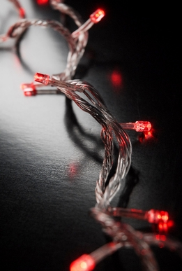 Multi Function LED String Lights | Red