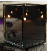 Myriad Mirror Glass Votive Holders