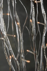 Natural Curly Willow Branch Rice Lights