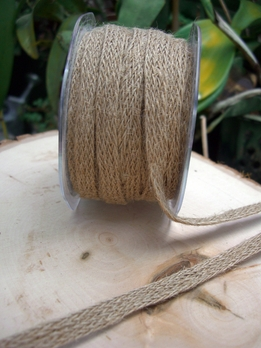 Jute Ribbon Braided 20yds