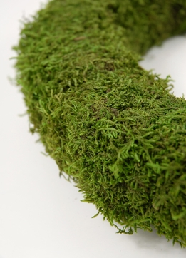 "Natural Moss Wreaths 12"" Preserved Moss"