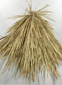 "Natural Thatching: Thatch Cone 47"" wide (for tiki bar umbrella)"