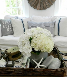 Nautical Decor: Driftwood - Glass Floats