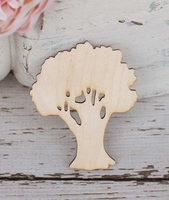 Oak Trees Cut Outs 3""